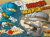 flash игра Ninja Mafia seige