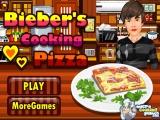Bieber Memasak Pizza
