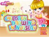 Children Drawing In Nursery