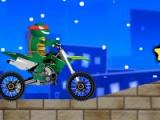 flash игра Ninja Turtles Biker 2