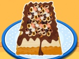 Jednostavno Mocha Chip Sladoled torta