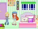 Winx house decorating