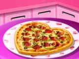 Валентин Pizza: Сара готвене клас
