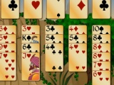 flash игра Solitaire Forty Thieves Gold