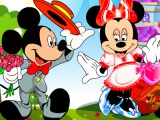 flash игра Minnie Mouse dating