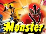 flash игра Power Rangers Samurai Monster Land