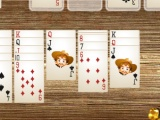 flash игра Solitaire Wild West