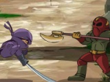 flash игра 3 Foot Ninja II