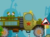 flash игра Ragdoll truck