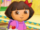 Dora`s feasting time