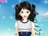Cute Winter Girly Dressup