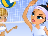 flash игра Dress-up Volleyball Champions