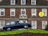 flash игра Rainy Taxi