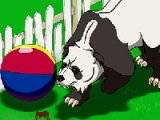 flash игра Panda rapmage