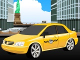 flash игра NY Taxi Parking