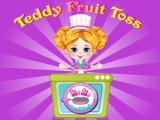 flash игра Teddy Fruit Toss