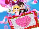 flash игра Romantic Wedding in the Sky