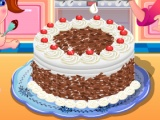 flash игра My Black Forest Cake