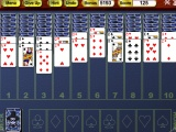 flash игра Crystal Spider Solitaire