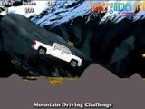 Steep mountain pass