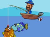 flash игра Freddy's fishing fun