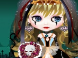 flash игра Chic Gothic Bride