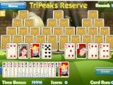 flash игра Tri Peaks Reserve Solitaire