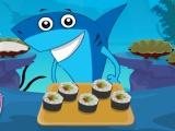 Bebê Tubarão Sushi