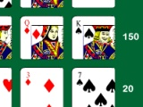 flash игра Solitaire Poker