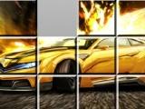 flash игра Puzzle super car