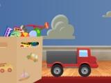 flash игра Truck toy
