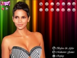 Makeup for Halle Berry