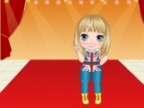 Miley Cyrus bebé Dress Up Game