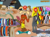 Wile E: dress up games