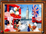 flash игра Mickey and friends in England