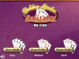 flash игра Solitaire Golden Spider