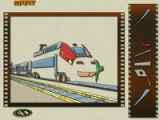 Gather the train puzzle