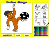 Curious Georce Online Coloring Game