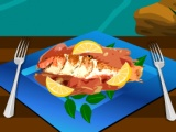 Grilled Fish with Lemon Butter