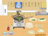 flash игра How to make spring rolls