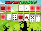 flash игра Angry Birds Solitare