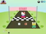 flash игра Hello Kitty Car Race