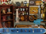 Find the object in antique shop