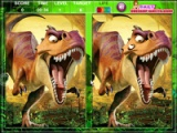 flash игра Ice Age Dawn Of The Dinosaurs Spot The Difference
