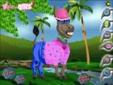 flash игра Cute Donkey Dressup