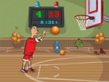 flash игра Basketball exam