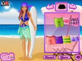 Barbie va surf