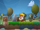 flash игра Zombie at the gates