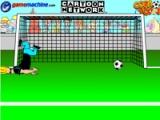 Johnny Bravo in bravo goalie
