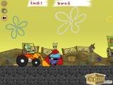 Squidward tractor